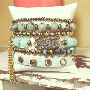 Mint Green Bracelet Stack❤️